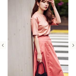デミルクスビームス(Demi-Luxe BEAMS)の【売切商品】デミルクスビームス  Tシャツ ピンク(Tシャツ(半袖/袖なし))