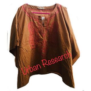 アーバンリサーチ(URBAN RESEARCH)のアーバンリサーチ ポンチョ風ブラウス(シャツ/ブラウス(長袖/七分))