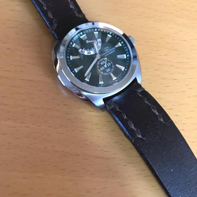 オリエントスター ソメスサドル 時計の通販 by ユニバーサルユニコーン's shop|ラクマ