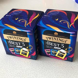 新品 トワイニング 紅茶 ベスト スリー 3種 2箱 TWININGS(茶)