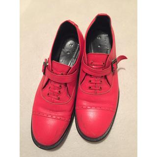 ヨウジヤマモト(Yohji Yamamoto)のyohji yamamoto シューズ(ローファー/革靴)