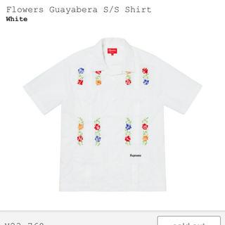 シュプリーム(Supreme)のsupreme Flowers Guayabera S/S Shirt(シャツ)