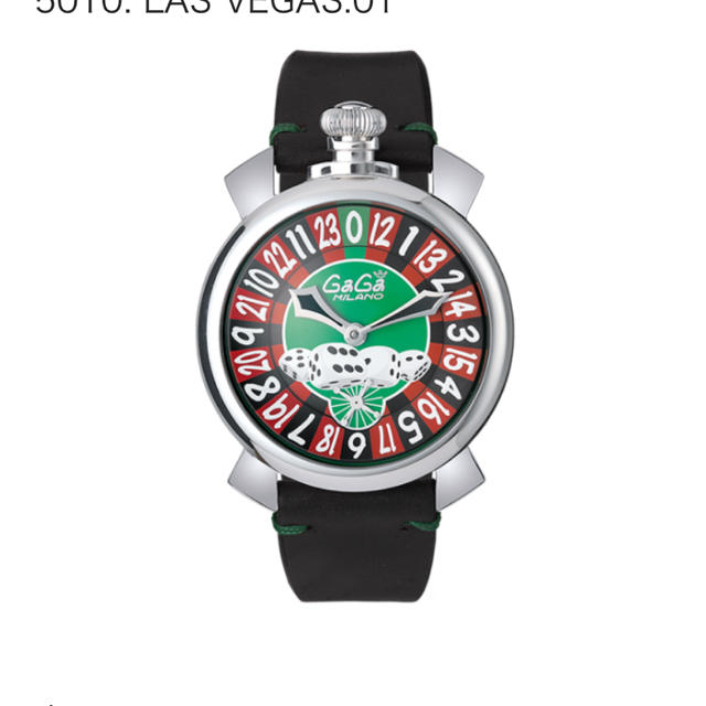 GaGa MILANO - GAGA  MILANO Las Vegas 世界500個限定の通販 by Jun 's shop|ガガミラノならラクマ