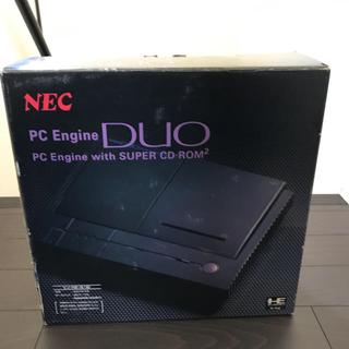 エヌイーシー(NEC)の【期間限定値引き】PCエンジンDuo(家庭用ゲーム機本体)