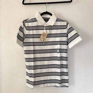 ムジルシリョウヒン(MUJI (無印良品))の鹿の子ポロシャツ 無印 S 新品 未使用(ポロシャツ)