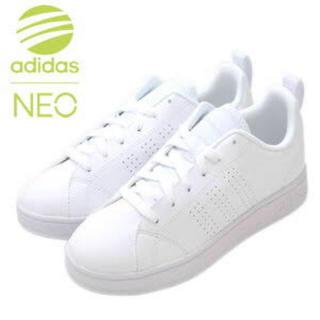 アディダス(adidas)のadidas neo ホワイトスニーカー(スニーカー)