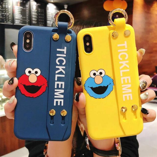 amazon 日本 、 SESAME STREET - ◆新品◆  エルモ/クッキーモンスターのiPhoneケース 可愛いの通販 by るり's shop|セサミストリートならラクマ