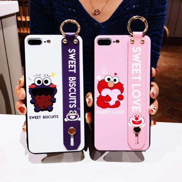 ヴェルサーチ アイフォンX ケース - ◆新品◆ 可愛い エルモ/クッキーモンスターiPhoneケースの通販 by るり's shop|ラクマ