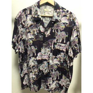 ジョンローレンスサリバン(JOHN LAWRENCE SULLIVAN)の開襟シャツ 虎柄 オープンカラーシャツ(シャツ)