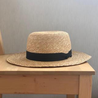 レイビームス(Ray BEAMS)のRay BEAMS / ストロー カンカン帽(麦わら帽子/ストローハット)
