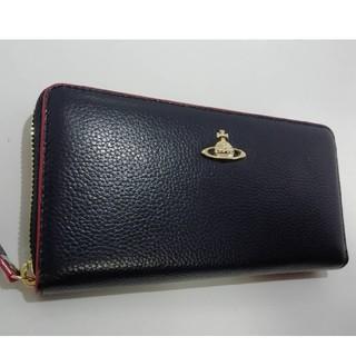 256d8c42332a ヴィヴィアンウエストウッド(Vivienne Westwood)の新品 ヴィヴィアンウエストウッド ネイビー レッド 長財布