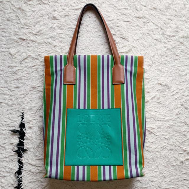sacai luck(サカイラック)の【ruka様2点おまとめ専用】sacai luck 🍊Loewe bag レディースのワンピース(ひざ丈ワンピース)の商品写真