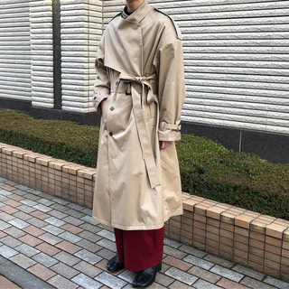 サンシー(SUNSEA)のkeisuke yoshida トレンチコート(トレンチコート)