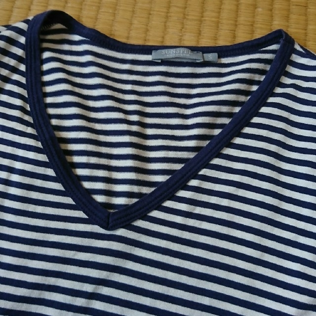 SUNSPEL(サンスペル)のサンスペル ボーダー カットソー メンズのトップス(Tシャツ/カットソー(七分/長袖))の商品写真