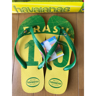 ハワイアナス(havaianas)のhawaianasハワイアナスビーチサンダルブラジルサッカーワールドカップ限定(サンダル)