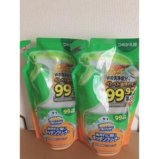 Johnson's - スクラビングバブル 油汚れに強いキッチンクリーナー つめかえ用 2袋
