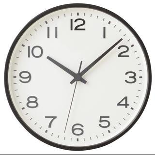 ムジルシリョウヒン(MUJI (無印良品))の激安!新品 ★無印良品 アナログ時計・大 掛時計・ブナ材 ブラウン限定 掛時計◆(掛時計/柱時計)