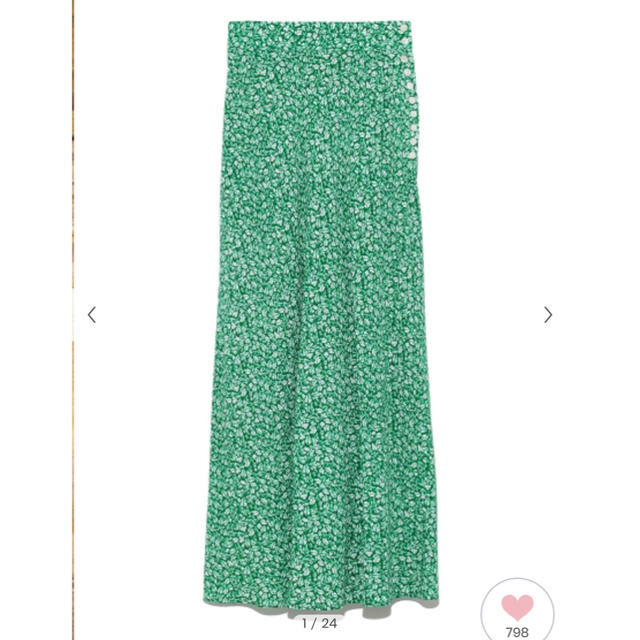 FRAY I.D(フレイアイディー)の人気商品 ナローフレアースカート フレイアイディー   レディースのスカート(ロングスカート)の商品写真