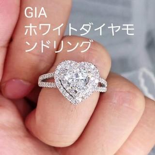 婚約指輪GIA♡メイン1.0ctホワイトダイヤモンドリング(リング(指輪))