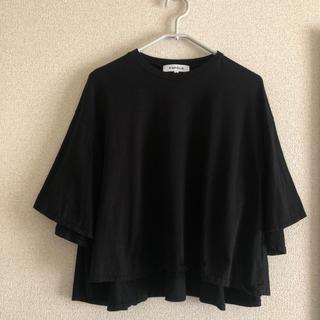 エンフォルド(ENFOLD)のエンフェルド スビン天竺レアスリブTシャツ(Tシャツ(半袖/袖なし))