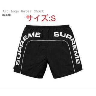 シュプリーム(Supreme)の Supreme Arc Logo Water Short 黒(水着)