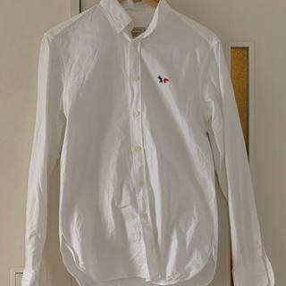 メゾンキツネ(MAISON KITSUNE')のキツネ オックスフォードシャツ(シャツ)