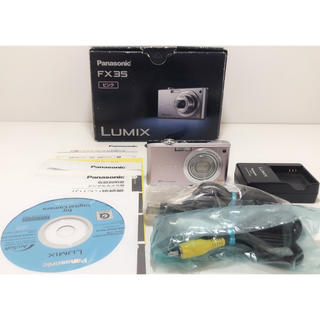 パナソニック(Panasonic)のZ129★PanasonicパナソニックLUMIXデジタルカメラDMC-FX35(デジタル一眼)