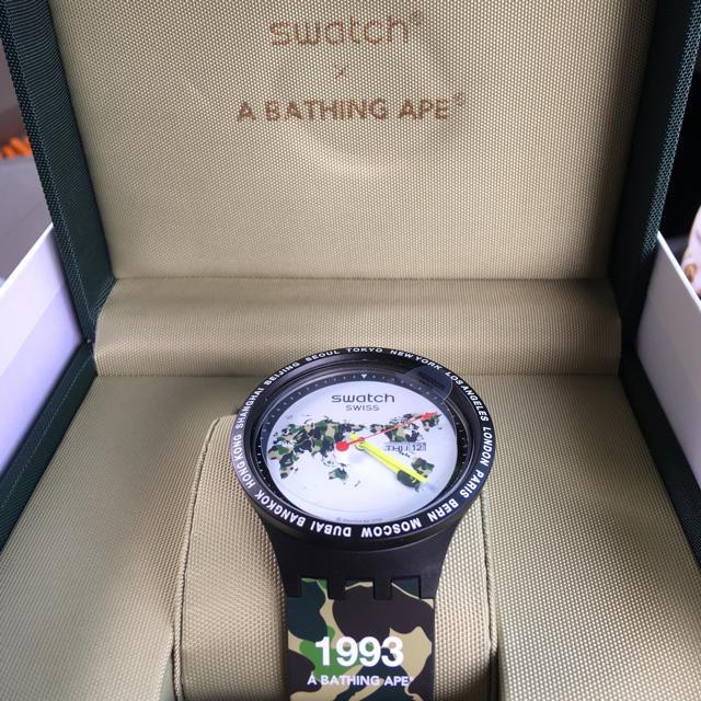 A BATHING APE - BAPE swatch 国内正規 新品 TOKYO WORLD apeの通販 by ruin57's shop|アベイシングエイプならラクマ