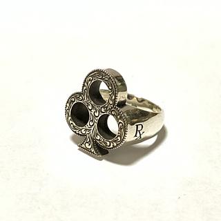 クーティー(COOTIE)の最終値下げ 新品 Engraved Club Ring (リング(指輪))