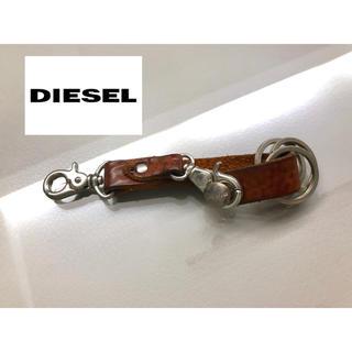 ディーゼル(DIESEL)のディーゼル  key ring brown leather(キーホルダー)