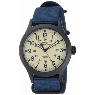 タイメックス(TIMEX)のTimex メンズ  腕時計 Blue/Black/Cream(腕時計(アナログ))