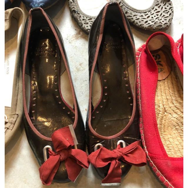 Vivienne Westwood(ヴィヴィアンウエストウッド)のフラットシューズ レディースの靴/シューズ(バレエシューズ)の商品写真