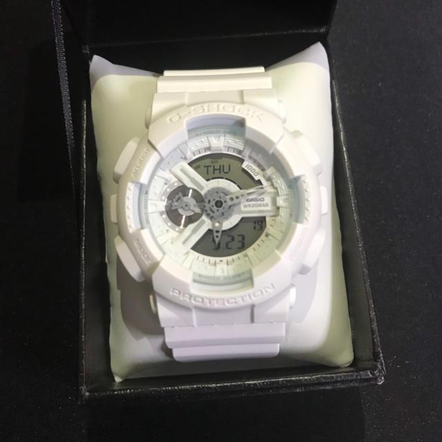 シャネル 時計 偽物 見分け方ファミマ - CASIO - G-SHOCK ホワイトの通販 by hiiragi's shop|カシオならラクマ