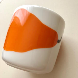 マリメッコ(marimekko)のマリメッコ イッタラ カフェオレカップ 洋ナシ フィンランド(グラス/カップ)