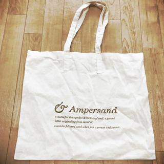 アンパサンド(ampersand)のAmpersand トートバッグ エコバッグ(トートバッグ)