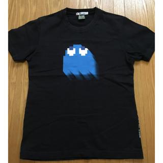 ユニクロ(UNIQLO)のパックマン pacman UT Tシャツ  黒 s  LINE Pay(Tシャツ/カットソー(半袖/袖なし))