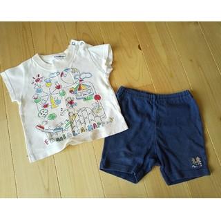 ファミリア(familiar)のファミリア familiar 80 上下セット 半袖Tシャツ 短パン(その他)