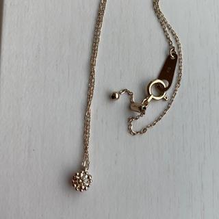 カシケイ k18 ブラウンダイヤモンド ネックレス(ネックレス)