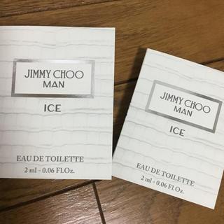 ジミーチュウ(JIMMY CHOO)のJimmy Choo マンアイストワレ♪持ち運び2ml 2本セット(香水(男性用))