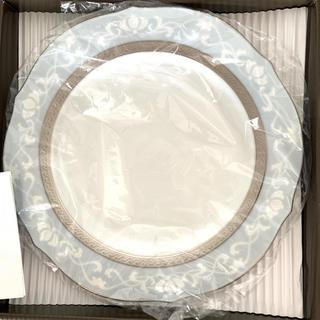 ノリタケ(Noritake)のHAMPSHIRE PLATINUM 23cm アクセントプレートペア(食器)