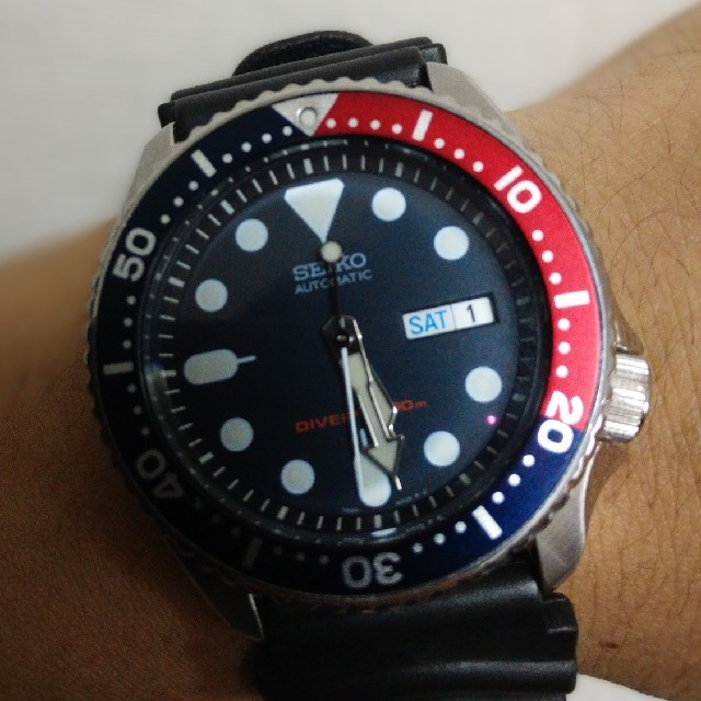 セブンフライデー スーパー コピー 正規品 - SEIKO - セイコーSKX009ネイビーボーイ ダイバースウォッチ オートマチック腕時計の通販 by tk's shop|セイコーならラクマ