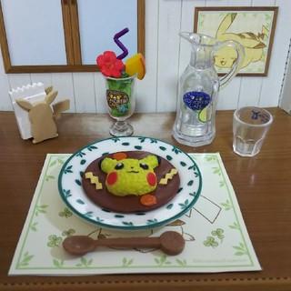 ポケモン(ポケモン)のリーメント  ピカチュウ 木漏れ日カフェ(その他)
