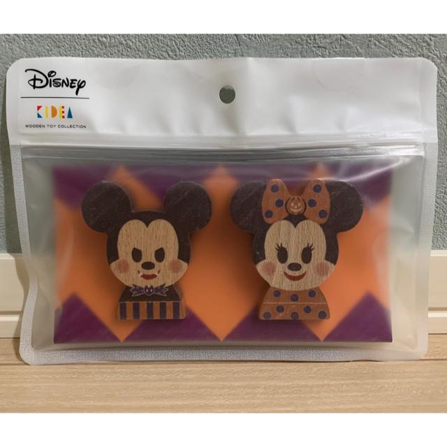 Disney(ディズニー)のKIDEA ハロウィン ミッキー ミニー 限定セット エンタメ/ホビーのおもちゃ/ぬいぐるみ(キャラクターグッズ)の商品写真