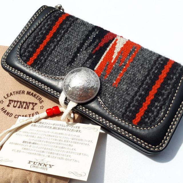 7d126f20e5dc FUNNY - 超希少 未使用 FUNNY×センチネラ オルテガ ラグ ウォレット 財布の通販 by ...