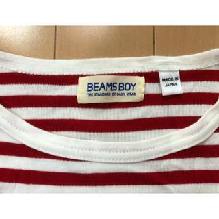 ビームスボーイ(BEAMS BOY)のビームスボーイ 赤ボーダーT(Tシャツ(長袖/七分))