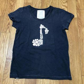 ゴートゥーハリウッド(GO TO HOLLYWOOD)のgotohollywood 150 音符 Tシャツ デニム ダンガリー 160(Tシャツ/カットソー)