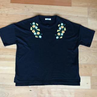 オリーブデオリーブ(OLIVEdesOLIVE)のオリーブデオリーブ 刺繍カットソー(カットソー(半袖/袖なし))