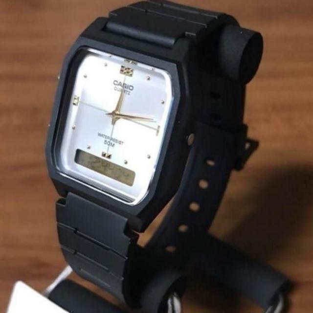 ジェイコブ 時計 コピー s級 | CASIO - 【新品】カシオ CASIO アナデジ 腕時計 AW48HE-7A シルバーの通販 by 遊☆時間's shop|カシオならラクマ