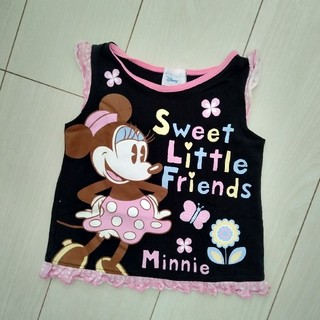 ディズニー(Disney)のディズニー ミニーマウス Tシャツ タンクトップ(タンクトップ/キャミソール)