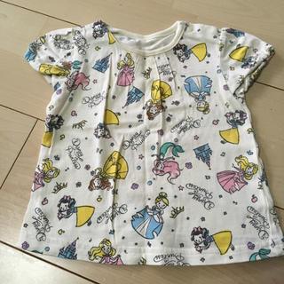 ニシマツヤ(西松屋)のプリンセス柄Tシャツ(Tシャツ(半袖/袖なし))